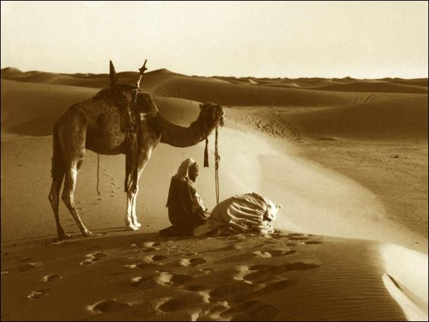 Salah in desert