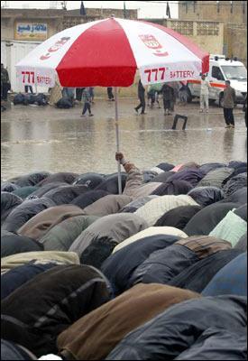 pray in rain