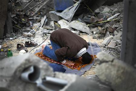 Man in Gaza