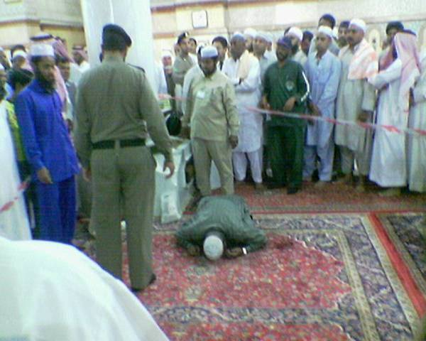 Died while making Sajda in Medina